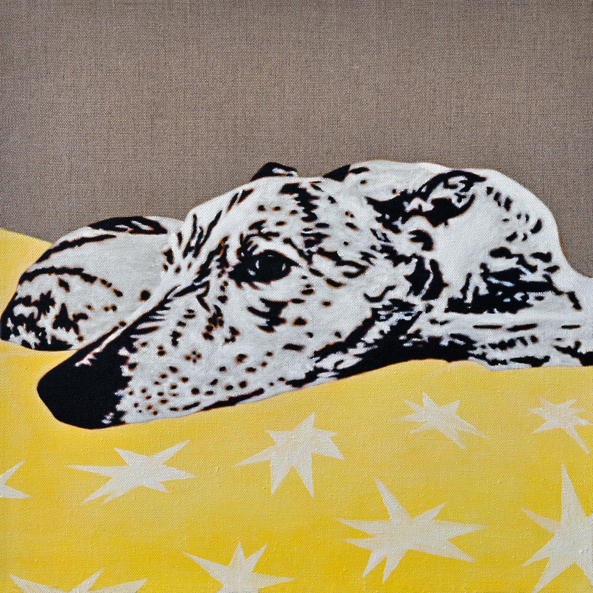 Starry Night - Portrait of a Greyhound - 5